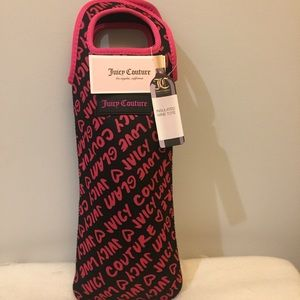 Juicy Couture wine tote NWT